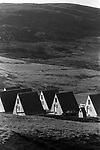 Sullom Voe, Oil industry housing for oil industry people.  1970s