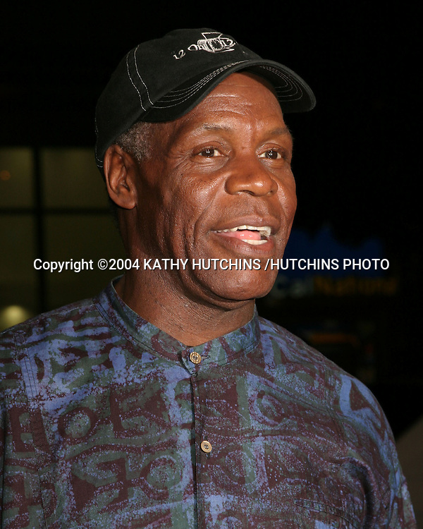 "©2004 KATHY HUTCHINS /HUTCHINS PHOTO.""BLADE:  TRINITY"" PREMIERE.GRAUMAN'S CHINESE THEATER .LOS ANGELES, CA.DECEMBER 7, 2004..DANNY GLOVER"
