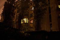 ROMANIA / Bucharest / 19 November 2009 / Pre-communist era apartments © Davin Ellicson / Anzenberger