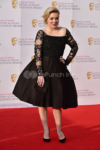 LONDON, ENGLAND - MAY 08: Sheridan Smith at he British Academy (BAFTA) Television Awards 2016, Royal Festival Hall, Belvedere Road, London, England, UK, on Sunday 08 May 2016.<br /> CAP/JOR<br /> &copy;JOR/Capital Pictures /MediaPunch ***NORTH AMERICA AND SOUTH AMERICA ONLY***