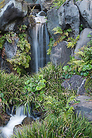 A waterfall at Higashi-Gyoen, the East Gardens of the Imperial Palace