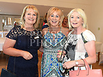 Mairead Dunne, Mary Lambe and Geraldine Callaghan at the Sacred Heart school class of 1978 40th anniversary reunion in The Boyne Valley hotel. Photo:Colin Bell/pressphotos.ie