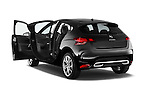 Rear three quarter door view of a 2013 Citroen DS4 Sport Chic 5 Door Hatchback 2WD
