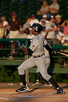 April 26 2010: Daniel Fields (45) of the Lakeland Flying Tigers during a game vs. the Daytona Beach Cubs at Jackie Robinson Ballpark in Daytona Beach, Florida. Daytona, the Florida State League High-A affiliate of the Chicago Cubs, won the game against Lakeland, affiliate of the Detroit Tigers, by the score of 3-1  Photo By Scott Jontes/Four Seam Images