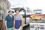Christian LeBlanc & Ryan Carnes -  Actors from Y&R, General Hospital and Days donated their time to Southwest Florida 16th Annual SOAPFEST at the Cruisin' and Schmoozin' Marco Island Princess in Marco Island, Florida on May 24, 2015 - a celebrity weekend May 22 thru May 25, 2015 benefitting the Arts for Kids and children with special needs and ITC - Island Theatre Co.  (Photos by Sue Coflin/Max Photos)