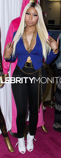 LOS ANGELES, CA - OCTOBER 15: Nicki Minaj attends the Kmart and Shop Your Way launch of the Nicki Minaj Collection held at Kmart on October 15, 2013 in Los Angeles, California. (Photo by Xavier Collin/Celebrity Monitor)