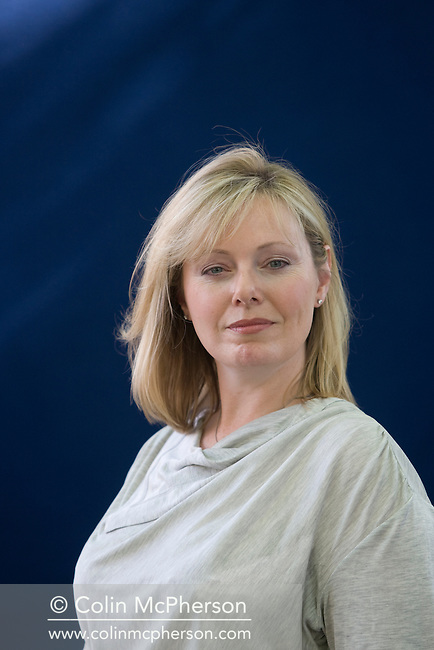 The wife of British politician William Hague, writer Ffion Hague pictured at the Edinburgh International Book Festival where she discussed her new novel about Lloyd George. The three-week event is the world's biggest literary festival and is held during the annual Edinburgh Festival. 2008 was the Book Festival's 25th anniversary and featured talks and presentations by more than 500 authors from around the world.
