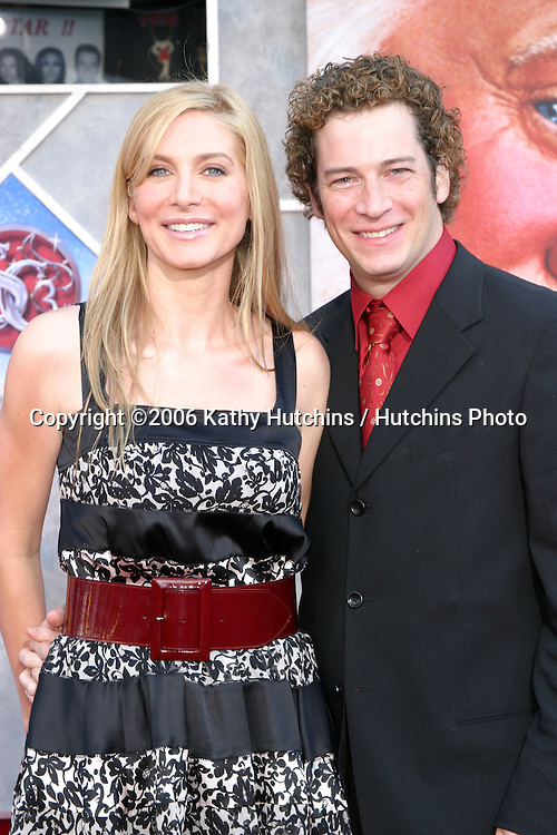 "Elizabeth Mitchell & husband.""Escape Clause:  The Santa Clause 3"" Movie Premeire.El Capitan Theater.Los Angeles, CA.October  29, 2006.©2006 Kathy Hutchins / Hutchins Photo...."