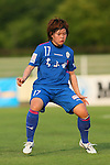 Saki Takano (Elfen), <br /> JULY 12, 2015 - Football / Soccer : <br /> 2015 Plenus Nadeshiko League Division 1 <br /> between NTV Beleza 1-0 AS Elfen Saitama <br /> at Hitachinaka Stadium, Ibaraki, Japan. <br /> (Photo by YUTAKA/AFLO SPORT)