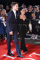 FKA Twiggs and Robert Pattinson<br /> at the &quot;Lost City of Z&quot; premiere held at the British Museum, London.<br /> <br /> <br /> &copy;Ash Knotek  D3229  16/02/2017
