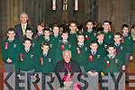Monastry NS pupils who was confirmed by Bishop Bill Murphy in St Mary's Cathedral Killarney on Friday front row l-r: David Casey, David Kenny, Dean Cronin and Kuba Mikzarek. Middle row: Peter McCarthy, Mark Harnett, Nelu O'Doherty, Jake Grunfald, Cian Kelleher, Philip Bruzgiewicz, Ben Egan. Back row: Mark Stack, Michea?l O Suileabhain Principal, Chris Sweetman, Simon Kita, Luke Coffey, Kuba Labecki and Tommy Horgan