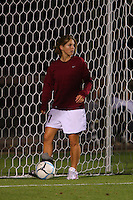 14 September 2007: Stanford Cardinal Lea MacKinnon during Stanford's 3-2 win in the Stanford Invitational against the Missouri Tigers at Maloney Field in Stanford, CA.