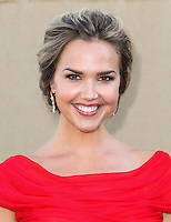 BEVERLY HILLS, CA - JULY 29: Arielle Kebbel attends the CBS, Showtime, CW 2013 TCA Summer Stars Party at 9900 Wilshire Blvd on July 29, 2013 in Beverly Hills, California. (Photo by Celebrity Monitor)
