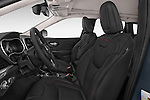 Front seat view of a 2014 Volkswagen Cherokee Trailhawk 4X4 5 Door SUV front seat car photos