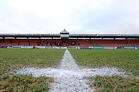 View from the centre spot during Stevenage vs Reading, Emirates FA Cup Football at the Lamex Stadium on 6th January 2018