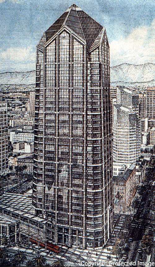 Helmut Jahn: One Great America Plaza, San Diego.