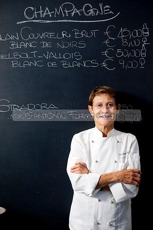 Marta Pulini, chef of Brasserie Franceschetta 58 in Modena, Emilia Romagna, Italy