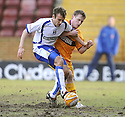 27/02/2010  Copyright  Pic : James Stewart.sct_jspa15_motherwell_v_kilmarnock  .::  TIM CLANCY AND STEVEN HAMMELL CHALLENGE :: .James Stewart Photography 19 Carronlea Drive, Falkirk. FK2 8DN      Vat Reg No. 607 6932 25.Telephone      : +44 (0)1324 570291 .Mobile              : +44 (0)7721 416997.E-mail  :  jim@jspa.co.uk.If you require further information then contact Jim Stewart on any of the numbers above.........