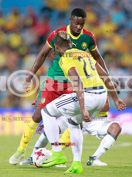Cameroon's Arnaud Djoum during international friendly match. June 13,2017.(ALTERPHOTOS/Acero) (NortePhoto.com) (NortePhoto.com)