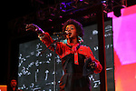Ms. Lauryn Hill Performs at the 8th Annual Rock The Bells Held on Governors Island, NY 9/3/11