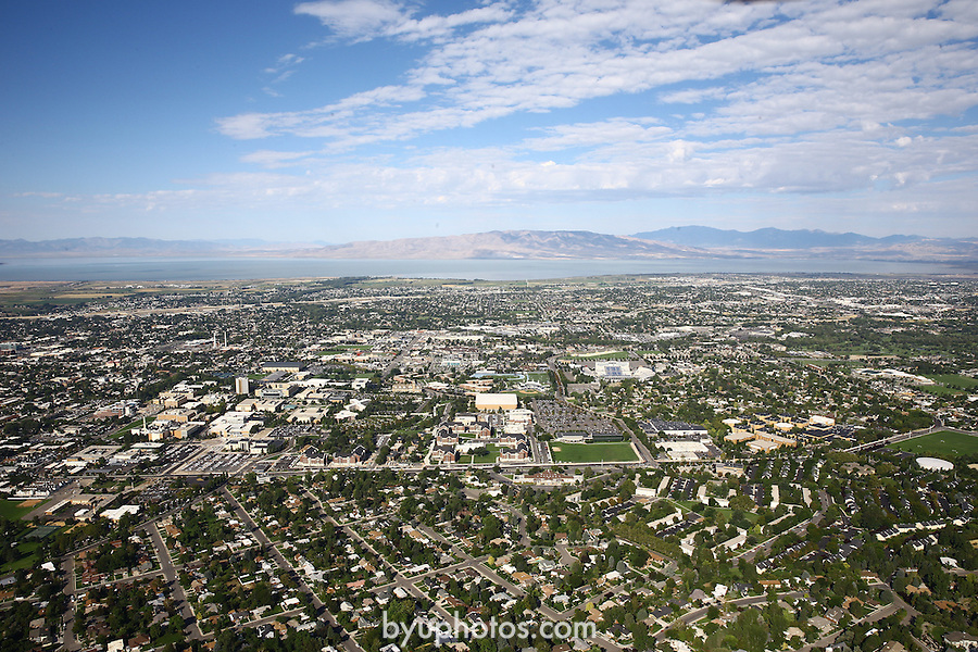 1309-22 1250<br /> <br /> 1309-22 BYU Campus Aerials<br /> <br /> Brigham Young University Campus, Provo, <br /> <br /> East Campus at Sunrise, East looking West, Provo, <br /> <br /> September 6, 2013<br /> <br /> Photo by Jaren Wilkey/BYU<br /> <br /> &copy; BYU PHOTO 2013<br /> All Rights Reserved<br /> photo@byu.edu  (801)422-7322