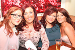 Tanya Burke, Martina McElhinney, Natasha Quigley and Julie Fitzsimons in Barroco...Picture Jenny Matthews/Newsfile.ie