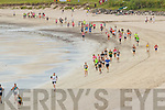 Action from the start of the Ballinskelligs 3 Beach Challenge on Sunday.