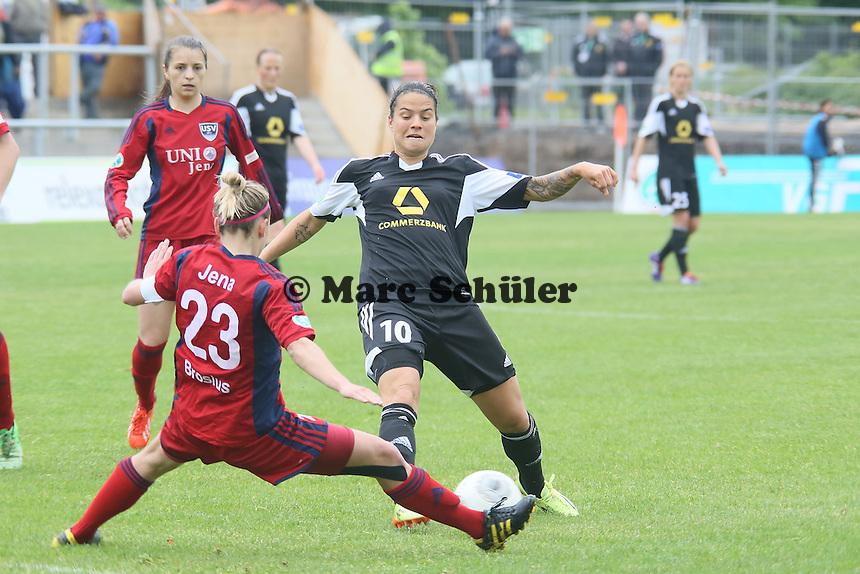 Dzsenifer Marozsan (FFC) gegen Laura Brosius (Jena) - 1. FFC Frankfurt vs. USV FF Jena