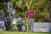 Cameron Smith (USA) watches his tee shot on 16 during round 3 of the World Golf Championships, Mexico, Club De Golf Chapultepec, Mexico City, Mexico. 2/23/2019.<br /> Picture: Golffile | Ken Murray<br /> <br /> <br /> All photo usage must carry mandatory copyright credit (© Golffile | Ken Murray)