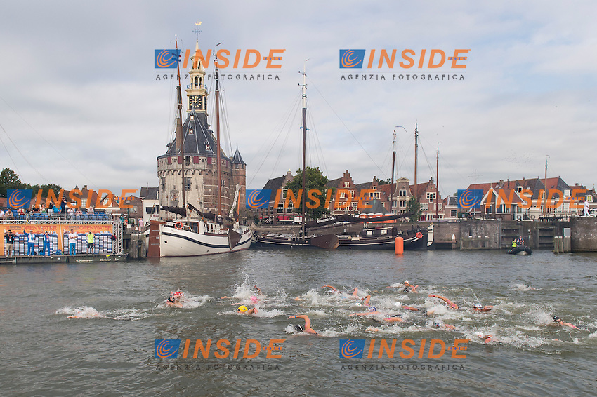 Start<br /> Hoorn, Netherlands <br /> LEN 2016 European Open Water Swimming Championships <br /> Open Water Swimming<br /> Women's 10km<br /> Day 01 10-07-2016<br /> Photo Giorgio Perottino/Deepbluemedia/Insidefoto