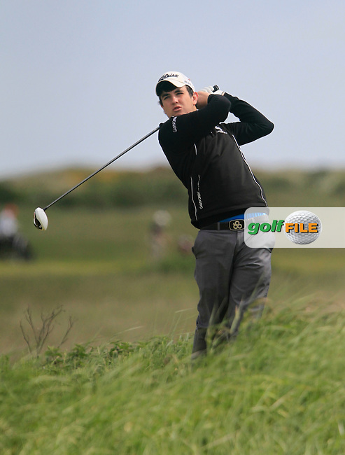 J. Sutherland (Galgorm Castle)<br /> during the 2nd round of the East of Ireland Amateur Open Championship 2013 Co Louth Golf club 2/6/13<br /> Picture:  Thos Caffrey / www.golffile.ie