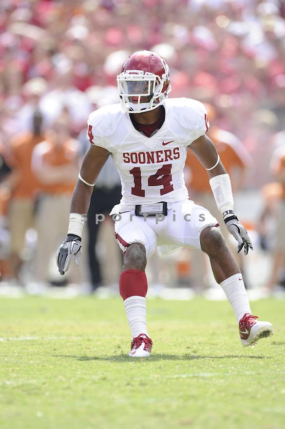 Aaron Colvin(14) / Oklahoma Sooners