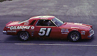 A.J. Foyt Jr. #51 Chevy at the 1977 Firecracker 400 at Daytona Internationa Spedway in Daytona Beach, FL in July 1977.(Photo by Brian Cleary/www.bcpix.com)