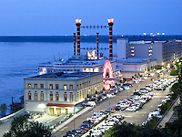 Ameristar Casino on Mississippi in Vicksburg Mississippi