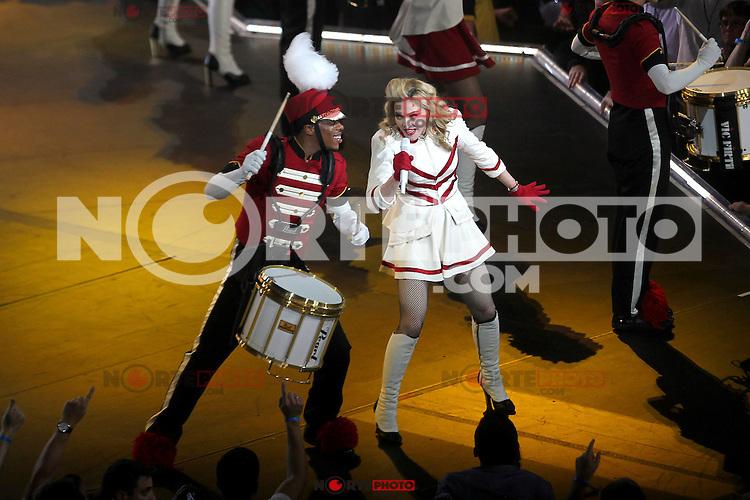 WASHINGTON, DC - SEPTEMBER 23: Madonna performs during her MDNA Tour at the Verizon Center in Washington, D.C. September 23, 2012. &copy;&nbsp;mpi34/MediaPunch Inc. /NortePhoto<br /> <br /> **Solo*venta*en*Mexico*<br /> <br /> **CREDITO*OBLIGATORIO** *No*Venta*A*Terceros*<br /> *No*Sale*So*third*...