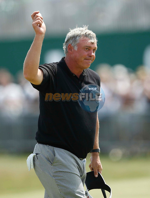Darren Clarke (NIR) in action during the second round of the 140th Open Championship played at Royal St George's Golf Club on 15th July 2011 in Sandwich, Kent, England .Picture: Phil INGLIS / www.golffile.ie