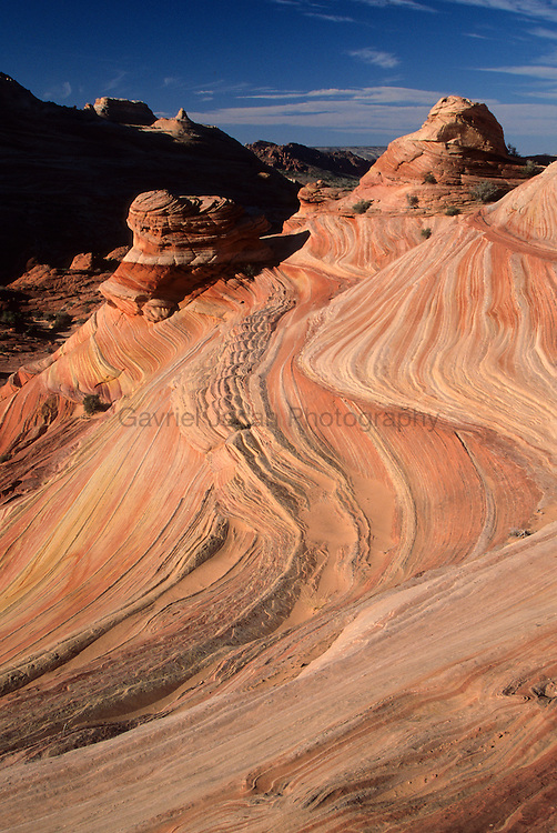 Checkered sandstone at Coyote Buttes Area on the Arizona and Utah border
