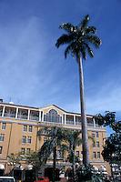 The Gran Hotel de Costa Rica facing the Plaza de la Cultura in downtown San Jose, Costa Rica