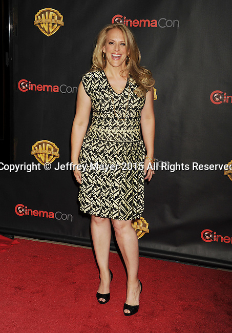 LAS VEGAS, CA - APRIL 21: Director Anne Fletcher arrives at Warner Bros. Pictures Invites You to ?The Big Picture at The Colosseum at Caesars Palace during CinemaCon, the official convention of the National Association of Theatre Owners, on April 21, 2015 in Las Vegas, Nevada.