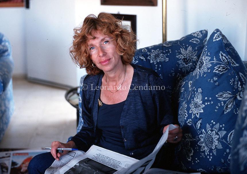 FIAMMA NIRENSTEIN , 25 / 06 / 1999 , GERUSALEMME  © Leonardo Cendamo