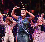 Peppermint performs during a special curtain call at Broadway's 'Head Over Heels' on July 12, 2018 at the Hudson Theatre in New York City.