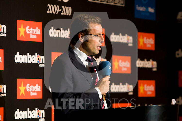 Barcelona's president Sandro Rosell. September 30, 2010. (ALFAQUI/Gregorio).