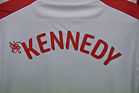 Ben Kennedy of Stevenage shirt during Stevenage vs Tranmere Rovers, Sky Bet EFL League 2 Football at the Lamex Stadium on 4th August 2018
