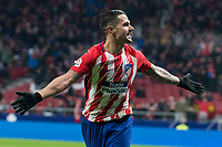 Atletico de Madrid Vitolo Machin celebrating a goal during King's Cup match between Atletico de Madrid and Lleida Esportiu at Wanda Metropolitano in Madrid, Spain. January 09, 2018. (ALTERPHOTOS/Borja B.Hojas) /NortePhoto.com NORTEPHOTOMEXICO