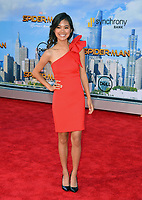 Tiffany Espensen at the world premiere for &quot;Spider-Man: Homecoming&quot; at the TCL Chinese Theatre, Los Angeles, USA 28 June  2017<br /> Picture: Paul Smith/Featureflash/SilverHub 0208 004 5359 sales@silverhubmedia.com