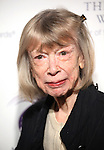 Joan Didion attends the American Theatre Wing's annual gala at the Plaza Hotel on Monday Sept. 24, 2012 in New York.