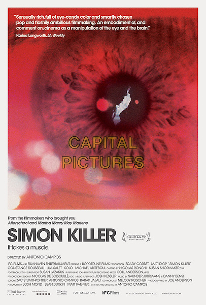 POSTER ART.in Simon Killer (2012) .*Filmstill - Editorial Use Only*.CAP/FB.Supplied by Capital Pictures.