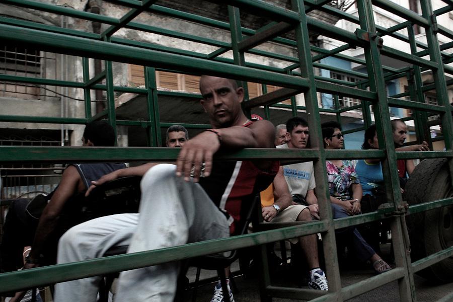 Havana (Cuba). September 2006..La Habana Vieja.