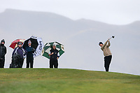 James Fox (Portmarnock) during the SF of matchplay at the 2018 West of Ireland, in Co Sligo Golf Club, Rosses Point, Sligo, Co Sligo, Ireland. 03/04/2018.<br /> Picture: Golffile | Fran Caffrey<br /> <br /> <br /> All photo usage must carry mandatory copyright credit (&copy; Golffile | Fran Caffrey)