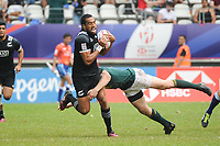 Sione Molia of New Zealand during the Semi Final match between New Zealand and South Africa at the HSBC Paris Sevens, stage of the Rugby Sevens World Series at Stade Jean Bouin on June 10, 2018 in Paris, France. (Photo by Sandra Ruhaut/Icon Sport)